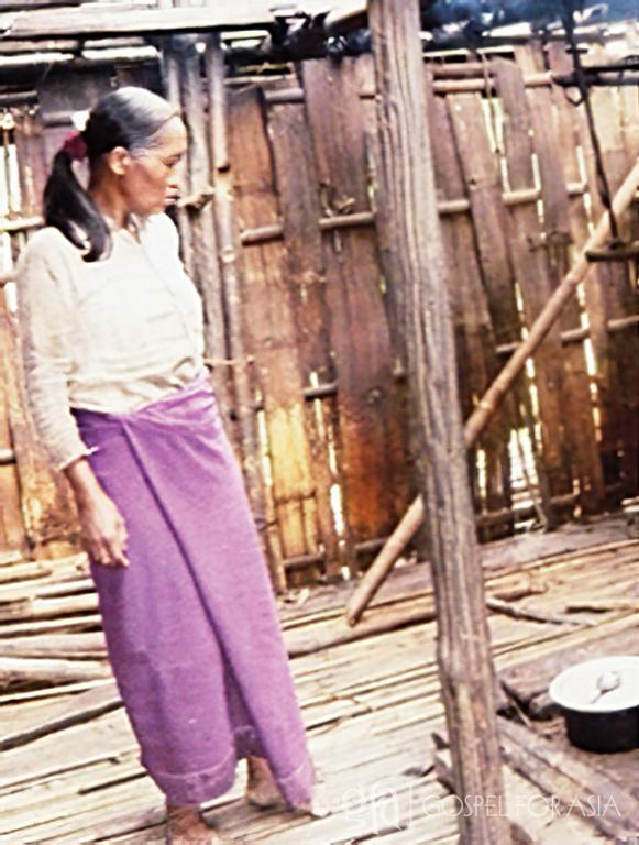 Gospel for Asia founded by Dr. K.P. Yohannan: Discussing Gospel for Asia-supported pastor, Kyaw and Shway and the isolation and persecution she experienced, even a house on fire, and God's divine appointment.