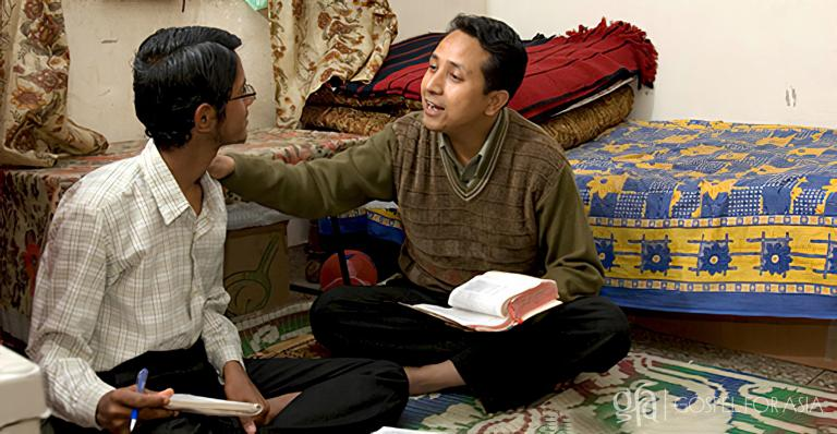 Gospel for Asia (founded by Dr. K.P. Yohannan): Vaj regularly met with Pastor Haatim, who counseled him. Eventually, Vaj decided to give up alcoholism.