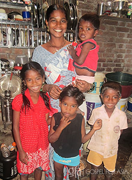 Gospel for Asia's Bridge of Hope Program made a difference in this family's life