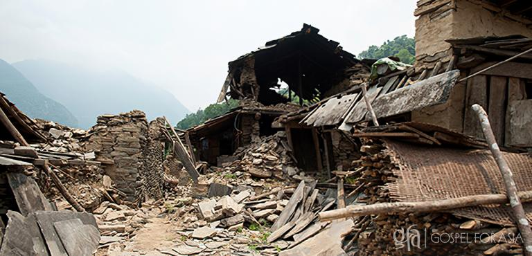 Gospel for Asia founded by Dr. K.P. Yohannan: Discussing Gospel for Asia Disaster Relief, the chaos and disaster the 7.8 magnitude Earthquake brought in Nepal in 2015, and the unflinching practical love through relief work and education through Bridge of Hope.