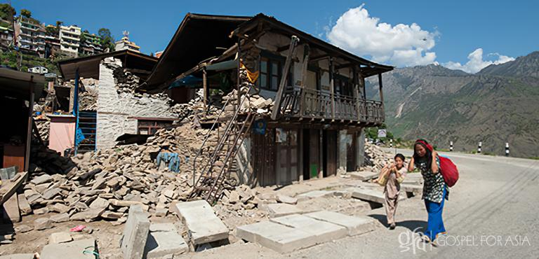 Gospel for Asia founded by Dr. K.P. Yohannan: Much of the damage caused by the earthquake in Nepal is long-lasting, but Gospel for Asia workers are continuing to help as the nation recovers.
