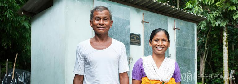 Gospel for Asia founded by Dr. K.P. Yohannan: A community gifted with outdoor toilets