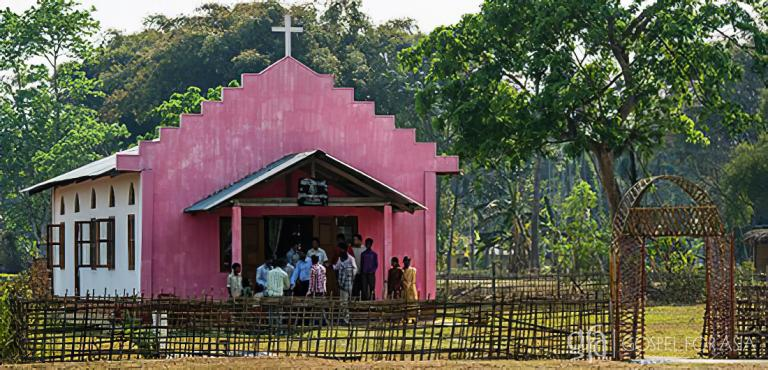 Gospel for Asia founded by Dr. K.P. Yohannan: Discussing a Gospel For Asia supported church that started out as a house gathering, and the simple church building through which many found hope & life in Jesus.