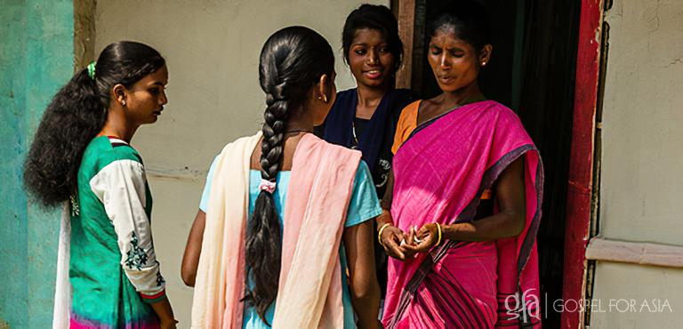 Gospel for Asia (GFA World) founded by Dr. K.P. Yohannan: Women Missionaries sharing the hope of Christ with other women