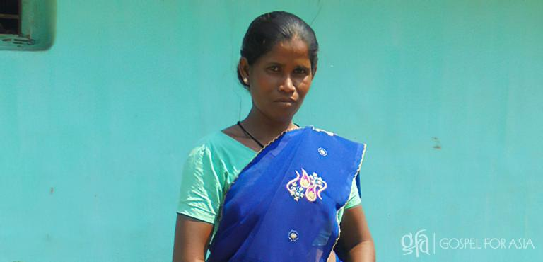 Gospel for Asia founded by Dr. K.P. Yohannan: Unable to find a cure for her strange illness, Bani (pictured) grew very weak, plunging her family into poverty as they struggled to find a cure.