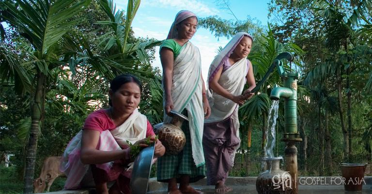 Gospel for Asia founded by Dr. K.P. Yohannan: Discussing the acute dangers of not having access to clean and safe water, and the Gospel for Asia Jesus Well that brought health and the hope of Jesus.