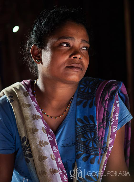 Gospel for Asia founded by Dr. K.P. Yohannan: Discussing a widow whose life was swallowed up into isolation, and theGospel for Asia workers that shared the unfailing love of Jesus.