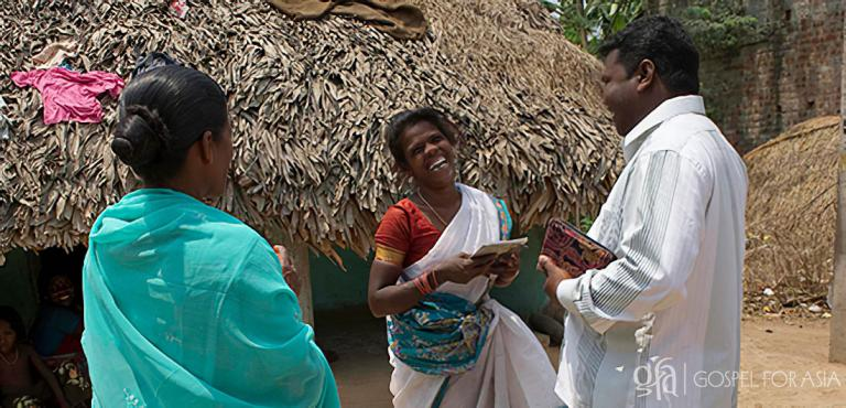 Gospel for Asia founded by Dr. K.P. Yohannan: National missionary and his wife bring hope