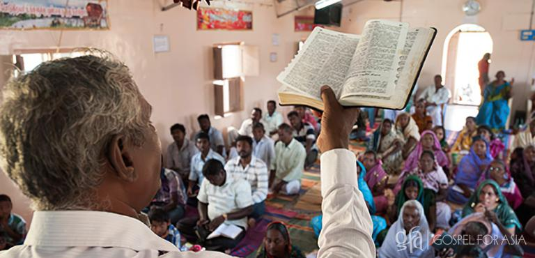 Gospel for Asia founded by Dr. K.P. Yohannan: These believers cherish their Bibles and read Scripture to strengthen themselves in the Lord, yet many other people in Asia do not have access to God's Word or know what promises it contains.