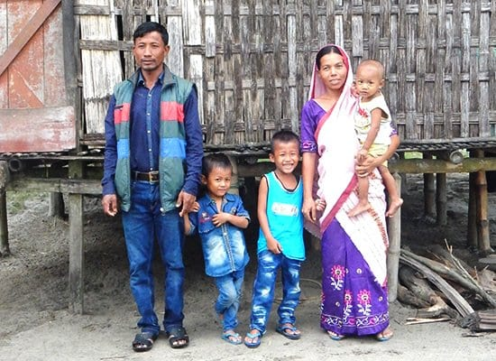 Gospel for Asia founded by Dr. K.P. Yohannan: Salil lives in a northeastern region of South Asia with his wife and three children.
