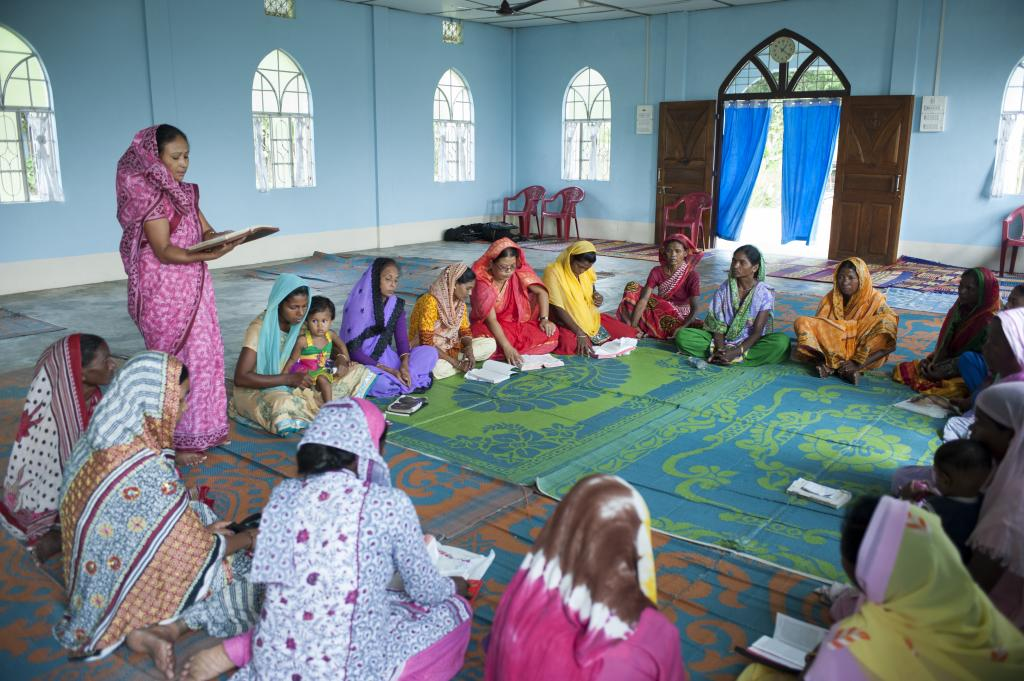 Gospel for Asia founded by Dr. K.P. Yohannan: Discussing the Gospel for Asia Women's fellowship groups that continue to give help and hope with an immense love to Jesus and others even at the cost of their own comforts.