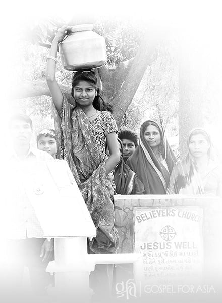 Gospel for Asia founded by Dr. K.P. Yohannan: Jesus Well blesses the whole community