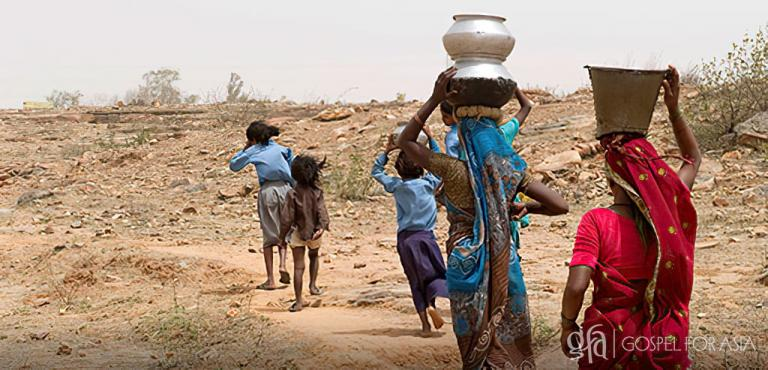 Gospel for Asia (GFA World and affiliates like Gospel for Asia Canada) founded by Dr. K.P. Yohannan: Poor communities are in need of pure water.