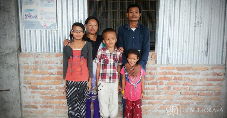 Discussing a family's struggles with health and poverty, and how a Gospel for Asia Bridge of Hope Center brought hope for a future.