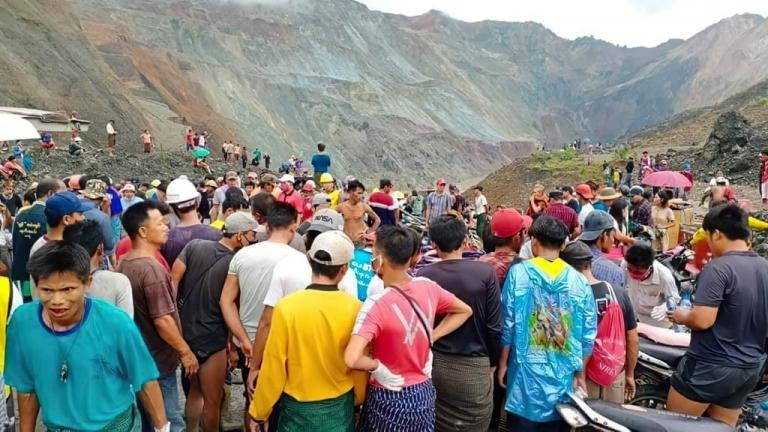 """Gospel for Asia has called for """"compassionate prayer"""" after more than 160 people were killed by a horrific mudslide at a jade mine in northern Myanmar"""