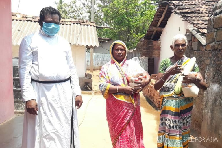 Gospel for Asia founded by Dr. K.P. Yohannan: Discussing the hunger & needs amid the COVID 19 lockdown, the GFA pastor and congregation used by God to bring relief through grocery distribution.