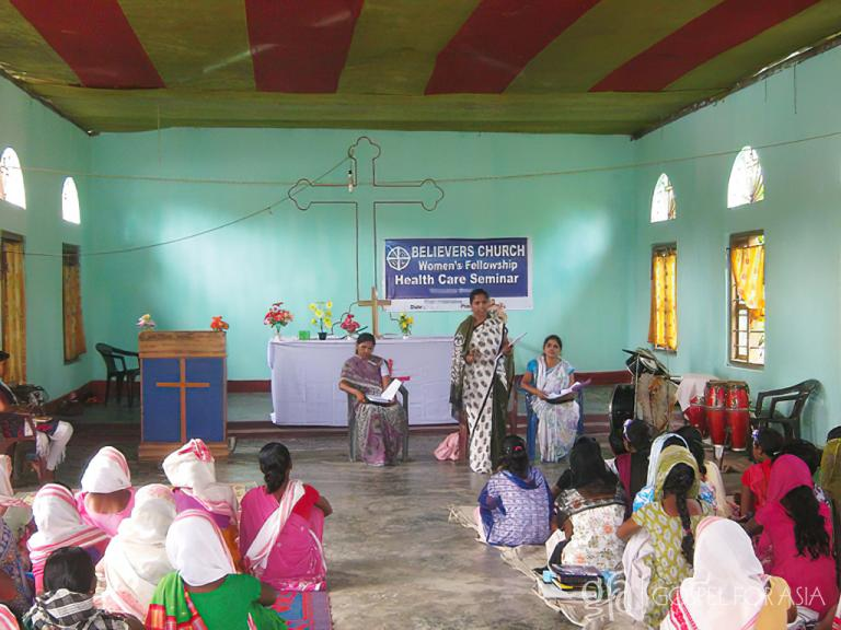 Gospel for Asia founded by Dr. K.P. Yohannan: Discussing Ekanga, his wife, Pallivini, the challenges they face with her sickness,& God's work through national missionaries &Gospel for Asia Medical camp