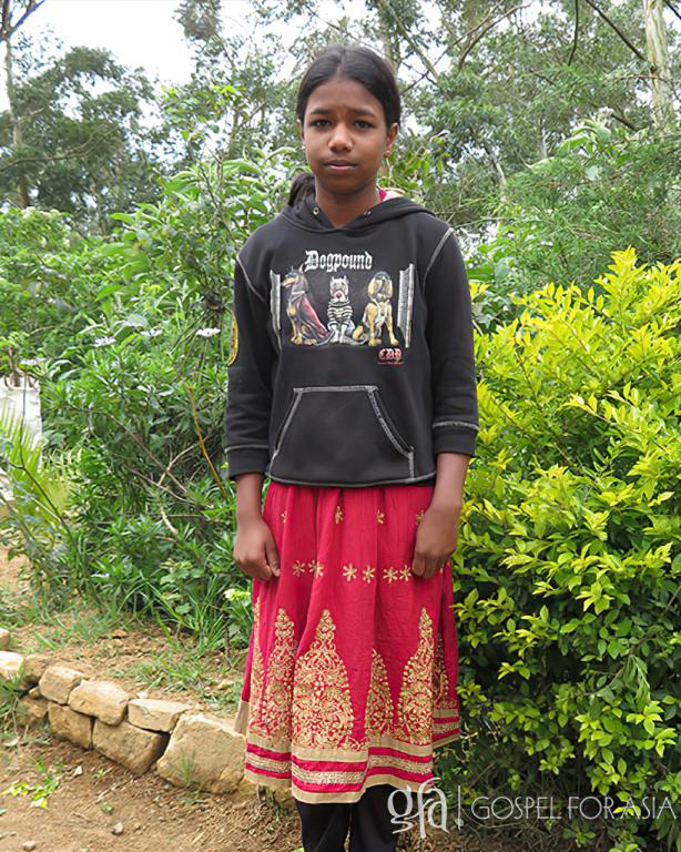 Gospel for Asia (GFA World) founded by Dr. K.P. Yohannan: Since attending Bridge of Hope, Siji has started to enjoy learning. She now dreams of becoming a teacher.