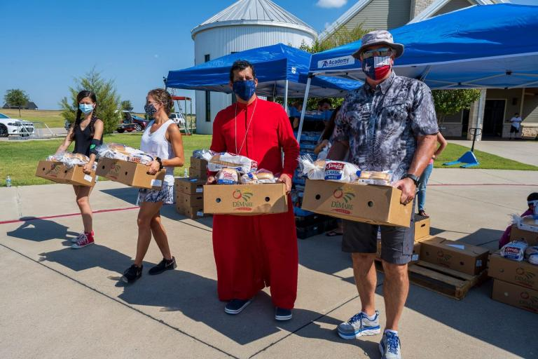 Gospel for Asia (GFA World) & volunteers will give away hundreds of food relief packages Sept 19 to help local families impacted by COVID 19