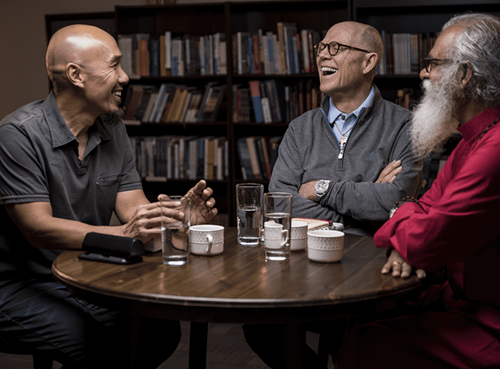 Francis Chan, Dr KP Yohannan, and Hank Hanegraaff, are featured in a new video discussion, titled The Keys to Christian Unity Unlocked.
