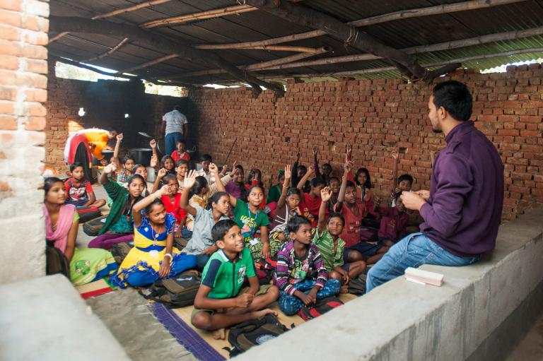 GFA World, founded by KP Yohannan, reports on the massive challenge of reducing extreme poverty worldwide - through providing education.