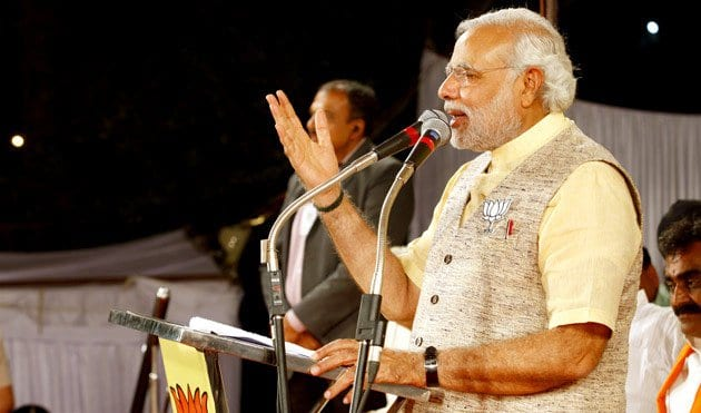 Prime Minister Modi campaigned to end open defecation and build latrines for India