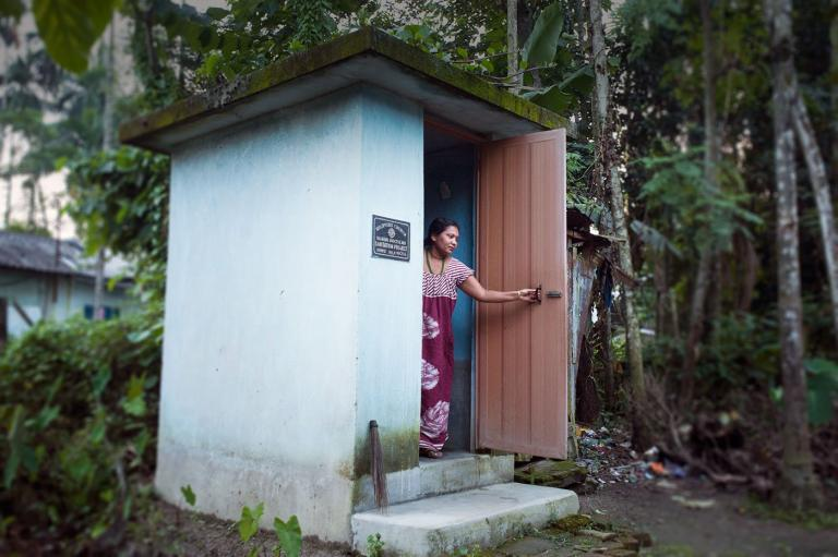 Gospel for Asia (GFA World) reports on the ongoing fight against open defecation, using outdoor toilets to improve sanitation.