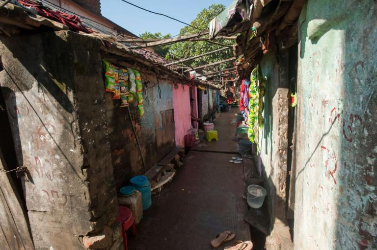 Glimpse of the red-light district where Pastor Dhinanath ministers