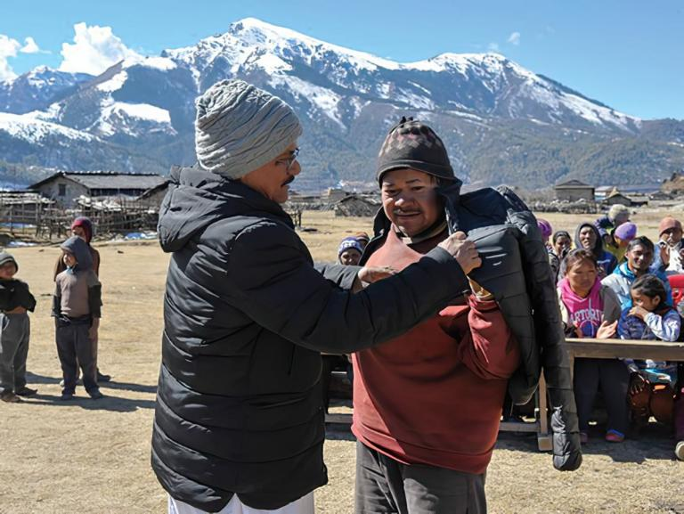 Discussing Parmeet, the challenge of harsh winter weather, and how donations from Gospel for Asia friends make a difference for poverty alleviation.