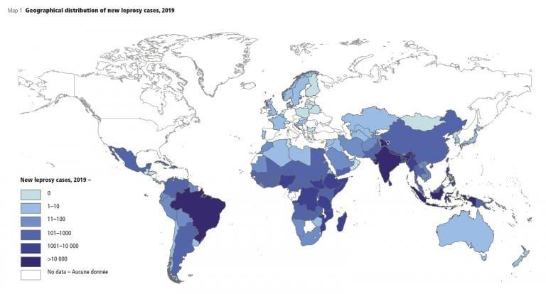 Leprosy Map 2019