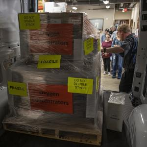 GFA World is sending oxygen equipment and supplies to help people fighting for breath amid devastating second wave of COVID-19 in India.
