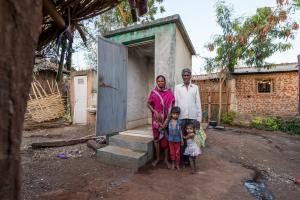 GFA World is helping combat the world's stinkiest health emergency -- open defecation --- released a new report: Taking the Toilet Challenge