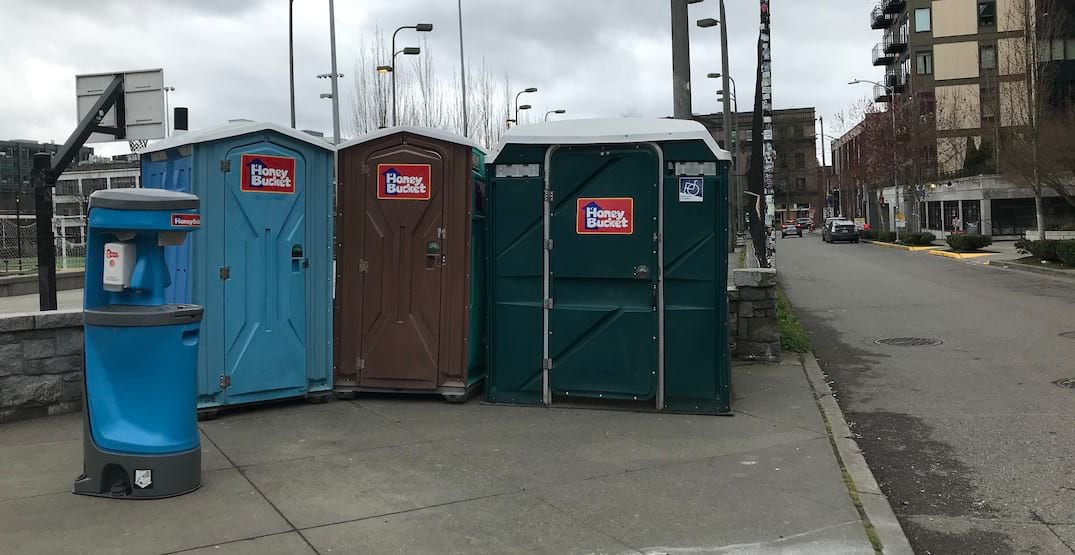 Seattle Parks comfort stations