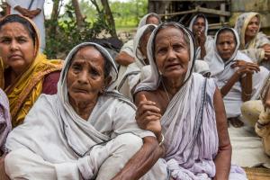 Tragedy of COVID 'widow-maker' on International Widows Day