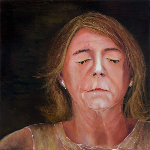 Shame, oil on canvas, Vesna Kittelson