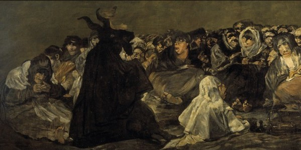 The Witches' Sabbath, Goya