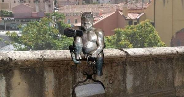 Adorable Satan Statue Makes Spanish Town Freak Out