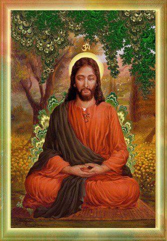 Jesus in zazen