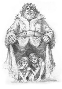 A Christmas Carol Spirits.Charles Dickens His Christmas Carol Those Three Spirits