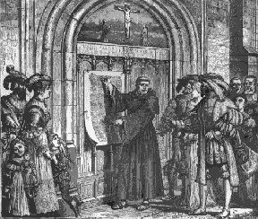 Luther at the door