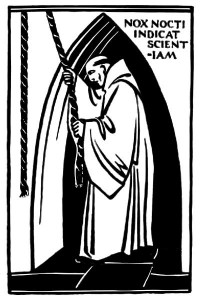 Monk Ringing Bell