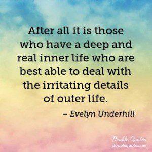underhill quote