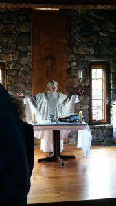 Mary Gates at mass