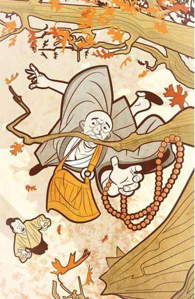 kyogen-up-in-a-tree