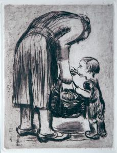 Mothers & Children (Kathe Kollwitz)