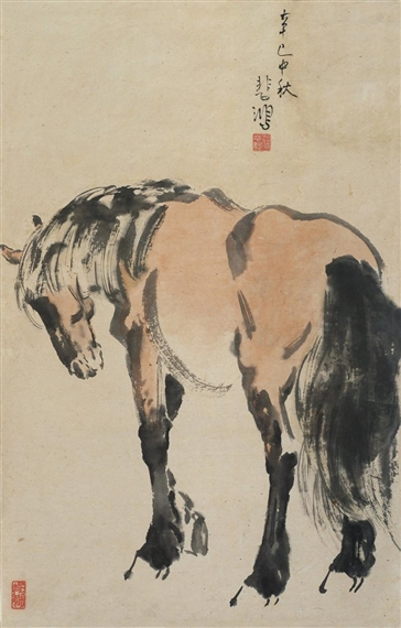 standing-horse (Xu Beihon)