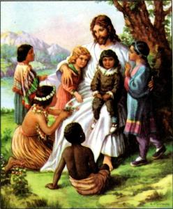 jesus with the little children