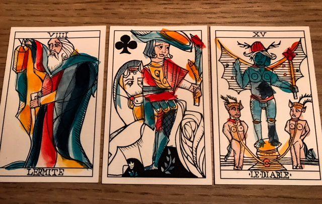 The Playing Cards Marseille, Ryan Edward (Photo: Camelia Elias)