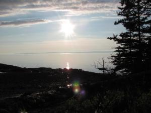The beautiful Minas Basin, Nova Scotia