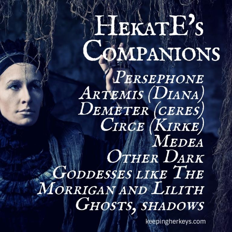 Artemis Hekate Hecate Persephone Diana